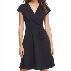 Gal Meets Glam Lydia Double Face Twist Dress
